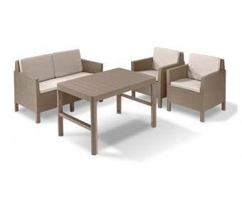 Комплект мебели Orlando set Lyon wicker table