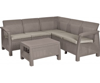 Угловой комплект мебели Corfu Relax set