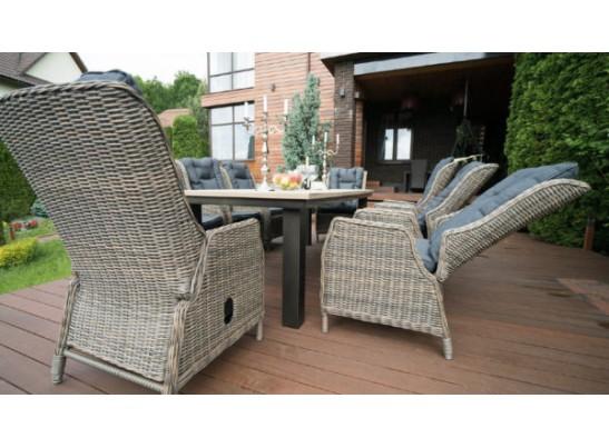 Комплект дачной мебели Парклэнд + 6 кресел Верона