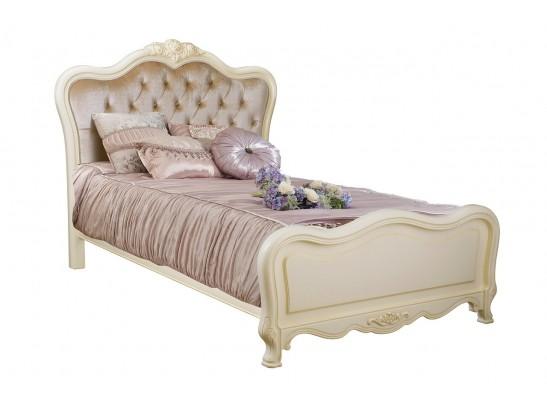 Кровать 120 Fiore Bianco 8801-A