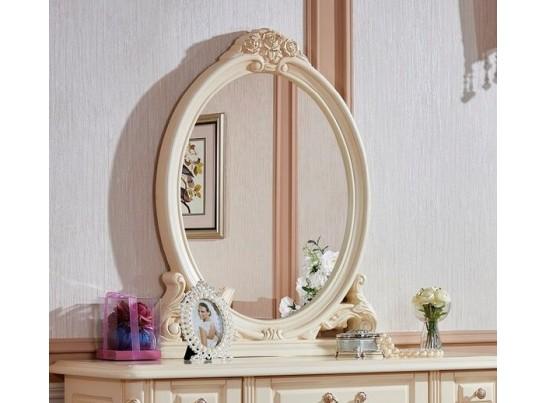 Зеркало к туалетному столику 8802-А Fiore Bianco