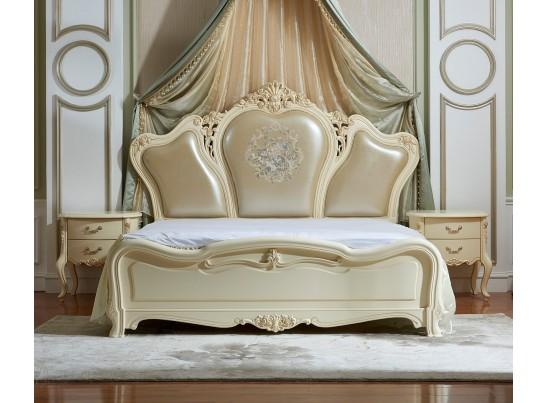 Кровать 180 Fiore Bianco 9908-А