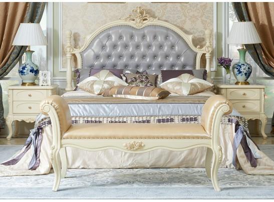 Кровать 180 Fiore Bianco 9908-В