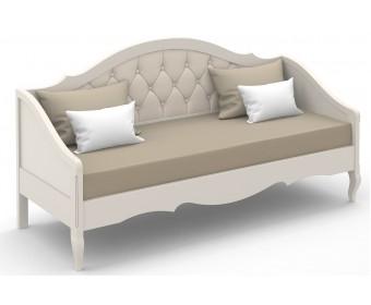 Кровать-диван Анжелика с мягкой спинкой