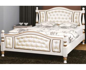 Кровать Bravo Жасмин-Дуб молочный